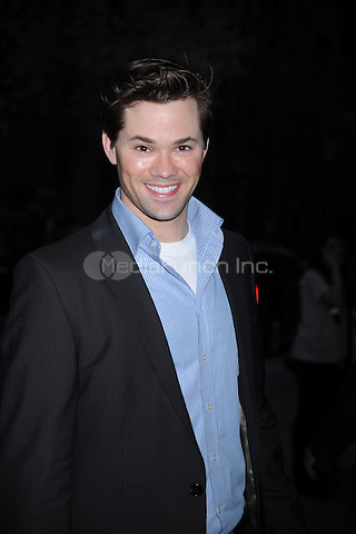 Andrew Rannells at the New York Premiere of 'The Conspirator' at The Museum of Modern Art in New York City. April 11, 2011. Credit: Dennis Van Tine/MediaPunch