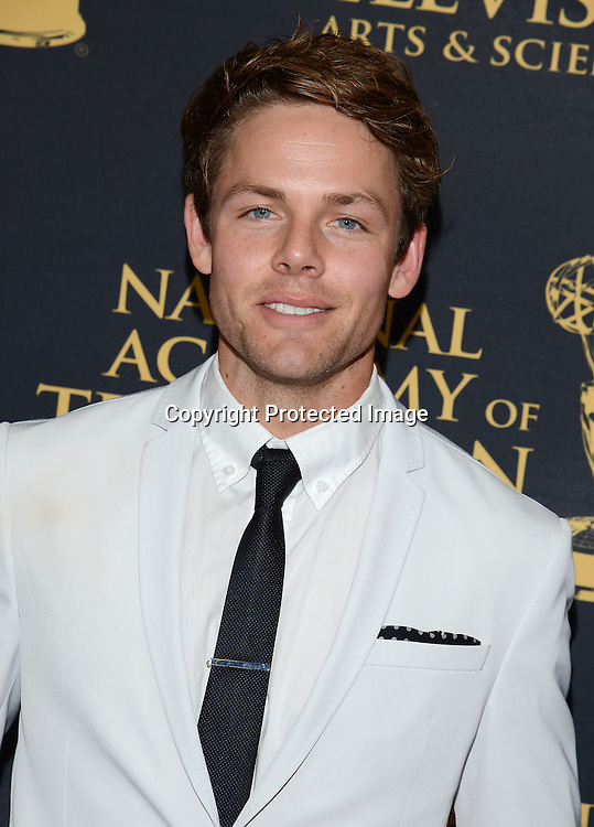Lachlan Buchanan attends the Creative Arts Emmy Awards on April 24, 2015 at the Universal l Hilton in Universal City,<br /> California, USA.