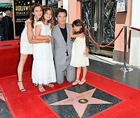 Jason Bateman, Amanda Anka &amp; Family at the Hollywood Walk of Fame Star Ceremony honoring actor Jason Bateman. Los Angeles, USA 26 July 2017<br /> Picture: Paul Smith/Featureflash/SilverHub 0208 004 5359 sales@silverhubmedia.com