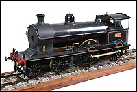 BNPS.co.uk (01202 558833)<br /> Pic:  BraybrookCollection/BNPS<br /> <br /> 'Achillies'.<br /> <br /> A late aristocrat's prized collection of model trains has sold for £244,000.<br /> <br /> Lord Braybrooke set up a miniature garden railway 55 years ago in the grounds of his stately home at Audley End House in Saffron Walden, Essex.<br /> <br /> He died in 2017 and his family parted with nine of his locomotives to raise funds to improve the railway's facilities so it can keep running for future generations.