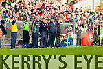 Manager Eamonn FitzmauriceManager Eamonn Fitzmaurice Kerry in action against  Cork in the National Football League at Pairc Ui Rinn, Cork on Sunday.