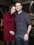 Andrea Toth and Aaron Sherlock pictured at Shane Rogan's 21st birthday in the Thatch. Photo:Colin Bell/pressphotos.ie