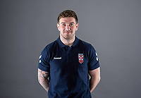 Picture by Allan McKenzie/SWpix.com - 24/04/2018 - Rugby League - RFL EPS Headshots - Village Hotels, Bury, England - Mark Percival.