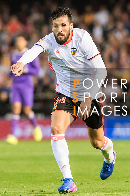 Ezequiel Garay of Valencia CF in action during their La Liga match between Valencia CF and Real Madrid at the Estadio de Mestalla on 22 February 2017 in Valencia, Spain. Photo by Maria Jose Segovia Carmona / Power Sport Images