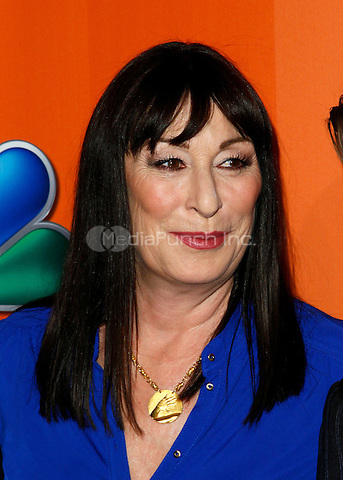16 May 2011 - New York , NY - Actress Anjelica Huston pictured at The 2011/12 NBC Primetime Preview at Hilton 6th Ave, New York City. Photo Credit: © Martin Roe / MediaPunch Inc.
