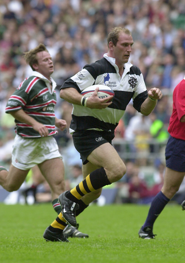 Photo Ken Brown.4.6.2000 Leicester v The Barbarians.Lawrence Dallaglio