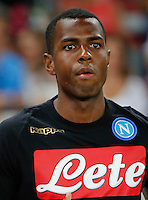 Nicolao Dumitru  during the friendly soccer match,between SSC Napoli and Onc Nice      at  the San  Paolo   stadium in Naples  Italy , August 01, 2016<br />  during the friendly soccer match,between SSC Napoli and Onc Nice      at  the San  Paolo   stadium in Naples  Italy , August 02, 2016