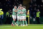 Celtic v St Johnstone&hellip;30.01.19&hellip;   Celtic Park    SPFL<br />Callum McGregor celebrates his goal<br />Picture by Graeme Hart. <br />Copyright Perthshire Picture Agency<br />Tel: 01738 623350  Mobile: 07990 594431