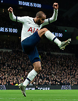 Tottenham's Lucas Moura defends Liverpool corner<br /> <br /> Photographer Stephanie Meek/CameraSport<br /> <br /> The Premier League - Tottenham Hotspur v Liverpool - Saturday 11th January 2020 - Tottenham Hotspur Stadium - London<br /> <br /> World Copyright © 2020 CameraSport. All rights reserved. 43 Linden Ave. Countesthorpe. Leicester. England. LE8 5PG - Tel: +44 (0) 116 277 4147 - admin@camerasport.com - www.camerasport.com