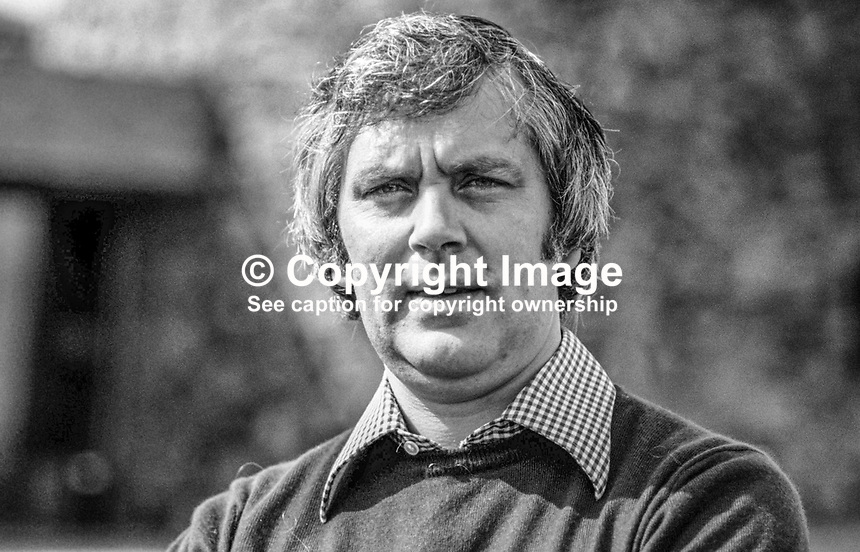 Glenn Barr, community worker, political activist, Londonderry, N Ireland, UK, 19790084d<br />