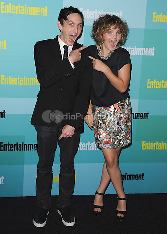 SAN DIEGO, CA - JULY 11:  Robin Lord Taylor and Camren Bicondova at the 2015 Entertainment Comic-Con Celebration at Float at Hard Rock Hotel on July 11, 2015 in San Diego, California. Credit: PGSK/MediaPunch