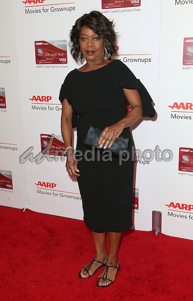 06 February 2017 - Beverly Hills, California - Alfre Woodard. AARP 16th Annual Movies For Grownups Awards held at the Beverly Wilshire Four Seasons Hotel. Photo Credit: F. Sadou/AdMedia