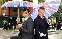 London - 'Our House' Photocall outside the Cambridge Theatre, London to announce the 10th Anniversary West End gala concert at the Savoy Theatre in aid of Help for Heroes on Sunday 11th November. Alistair McGowan, Tameka Empson and Wendi Peters join Madness' singer Suggs, in the cast. - October 19th 2012..Photo by Bob Kent