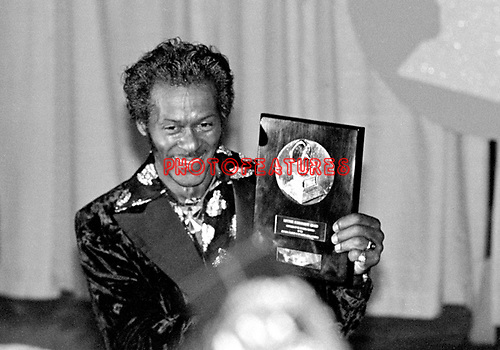 Chuck Berry 1984 Grammy Lifetime Achievement Award.© Chris Walter.