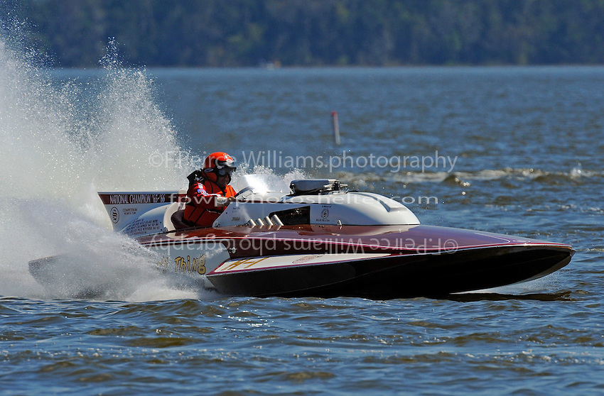 "John Pepe, H-1 ""Miss Crazy Thing"" (1973 7 Litre class Lauterbach hydroplane)"