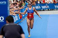 Sara Perez of Spain during the 2017 Madrid ITU Triathlon World Cup in Madrid, May 28, 2017. Spain.. (ALTERPHOTOS/Rodrigo Jimenez) /NortePhoto.com