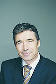 Copenhagen, Denmark - (FILE) -- Official Portrait of Prime Minister Anders Fogh Rasmussen of Denmark taken July 8, 2004..Credit: Prime Minister's Office via CNP