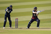 Steven Croft of Lancashire CCC cuts backward of point for a boundary during Middlesex vs Lancashire, Royal London One-Day Cup Cricket at Lord's Cricket Ground on 10th May 2019
