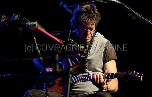 Musician and singer Lou Reed performing at the Jazz Middelheim festival in Antwerp (Belgium, 13/08/2009)