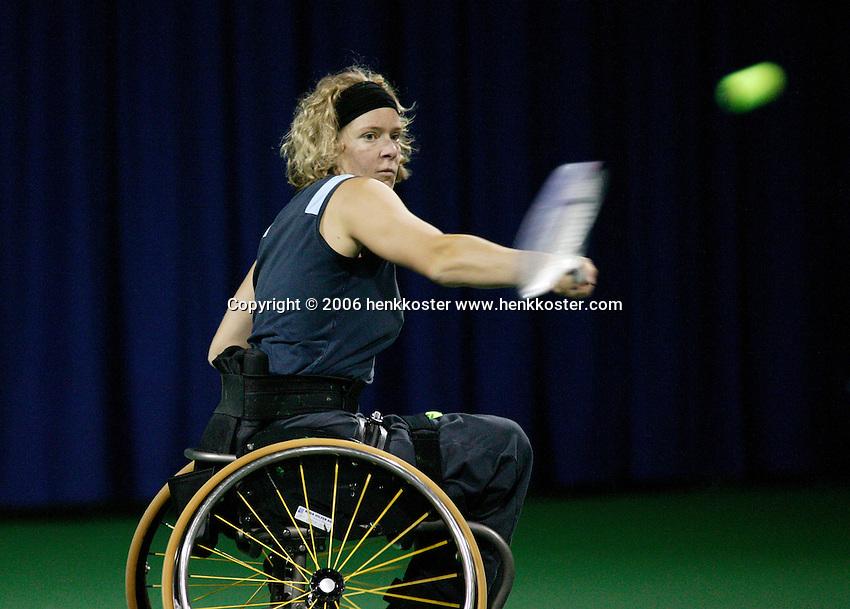 17-11-06,Amsterdam, Tennis, Wheelchair Masters, Karin Suter-Erath