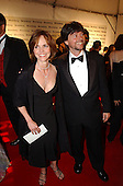 Sally Field and Ken Burns arrive at the Bloomberg party at the Trade Ministry of the Russian Federation in Washington, DC immediately following the 2002 White House Correspondents Dinner on May 4, 2002..Credit: Ron Sachs / CNP