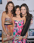 Bailee Madison with mon & sister at FilmDistrict L.a. Premiere of Don't Be Afraid of the Dark held at The Regal Cinemas L.A. Live Stadium 14 in Los Angeles, California on June 26,2011                                                                               © 2011 Hollywood Press Agency