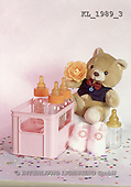 Interlitho, Alberto, CUTE ANIMALS, teddies, babies, photos, teddy, baby bottles(KL1989/3,#AC#)