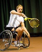 4-1-09, Renkum, NK rolstoeltennis, Esther Vergeer