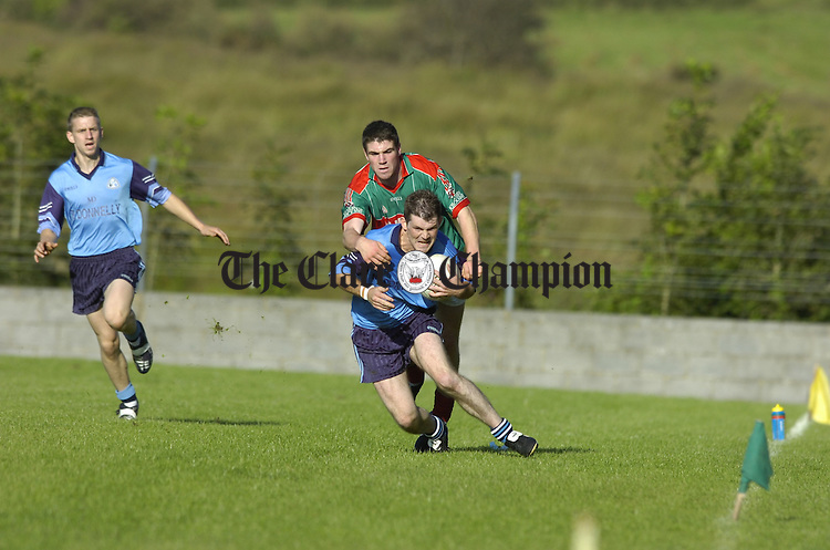 Football Cooraclare v Kilmurry Ibrickane at Kilmihil