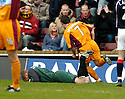11/03/2006         Copyright Pic: James Stewart.File Name : sct_jspa03_motherwell_v_falkirk.SCOTT MCDONLAD CELEBRATES SCORING THE FIRST FOR MOTHERWELL.Payments to :.James Stewart Photo Agency 19 Carronlea Drive, Falkirk. FK2 8DN      Vat Reg No. 607 6932 25.Office     : +44 (0)1324 570906     .Mobile   : +44 (0)7721 416997.Fax         : +44 (0)1324 570906.E-mail  :  jim@jspa.co.uk.If you require further information then contact Jim Stewart on any of the numbers above.........