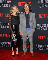 "LOS ANGELES, CA. October 22, 2018: Melissa James Gibson & Daniel Aukin at the season 6 premiere for ""House of Cards"" at the Directors Guild Theatre.<br /> Picture: Paul Smith/Featureflash"
