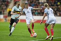 England Women vs Belgium Women 08-04-16