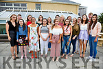 Vicky Boyle from Waterville pictured front centre celebrated her 18th birthday with family and friends at the Smugglers Restaurant, Waterville on Saturday night