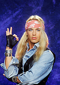 1990: POISON - Bret Michaels photosession
