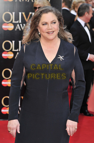 LONDON, ENGLAND - APRIL 13: Kathleen Turner attends the Olivier Awards 2014, Royal Opera House, Covent Garden, on Sunday April 13, 2014 in London, England, UK.<br /> CAP/CAN<br /> &copy;Can Nguyen/Capital Pictures