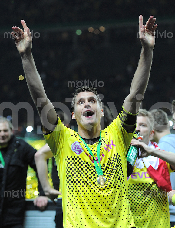 FUSSBALL      DFB POKAL FINALE       SAISON 2011/2012 Borussia Dortmund - FC Bayern Muenchen   12.05.2012 Sebastian Kehl (Borussia Dortmund)