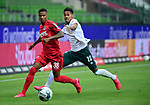 v.l. Ismail Jakobs, Theodor Gebre Selassie (Bremen)<br />Bremen, 27.06.2020, Fussball Bundesliga, SV Werder Bremen - 1. FC Koeln<br />Foto: VWitters/Witters/Pool//via gumzmedia/nordphoto<br /> DFL REGULATIONS PROHIBIT ANY USE OF PHOTOGRAPHS AS IMAGE SEQUENCES AND OR QUASI VIDEO<br />EDITORIAL USE ONLY<br />NATIONAL AND INTERNATIONAL NEWS AGENCIES OUT