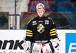 Stockholm 2014-10-14 Ishockey Hockeyallsvenskan AIK - Malm&ouml; Redhawks :  <br /> AIK:s m&aring;lvakt Christian Engstrand <br /> (Foto: Kenta J&ouml;nsson) Nyckelord:  AIK Gnaget Hockeyallsvenskan Allsvenskan Hovet Johanneshov Isstadion Malm&ouml; Redhawks portr&auml;tt portrait
