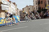 Manuel Cardoso leading the group during the stage of La Vuelta 2012 between Logroño and Logroño.August 22,2012. (ALTERPHOTOS/Acero) /NortePhoto.com<br /> <br /> **SOLO*VENTA*EN*MEXICO**<br /> **CREDITO*OBLIGATORIO**<br /> *No*Venta*A*Terceros*<br /> *No*Sale*So*third*<br /> *** No Se Permite Hacer Archivo**<br /> *No*Sale*So*third*