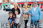 Garveys Tralee Winners, There has been a fantastic response to the €4,000 Local Business Voucher Giveaway at Garveys Supervalu stores in Kerry.<br /> The winners can nominate any business in the county they want that they would like to shop in and Garveys will give them a voucher for that business.  <br /> Caroline Stack from Strand Road, Tralee picked a Nicolas Haven Beauty Salon, in Market Street, Tralee and Peggy Ryle from Rock Street, Tralee picked Kevin Barry's Shop in Rock Street. <br /> Caroline Stack, Strand Road, Tralee, pictured with her nieces Ava and Chloe O'Dononghue and Peggy Ryle, Rock Street Tralee, who both won €100 vouchers for Garvey's SuperValu, Tralee on Wednesday morning last, presented by Amber Moriarty (Garveys Trainee manager). <br /> Winners from Garveys Listowel  this week were Gina Kelly, Teresa Griffin, Breda Lyons and Mary O'Leary who each won €50 Listowel town vouchers.