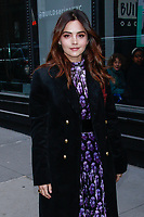 NEW YORK, NY - JANUARY 9: Jenna Coleman  at BUILD SERIES on January 9, 2019 in New York City. <br /> CAP/MPI99<br /> ©MPI99/Capital Pictures