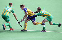 Southland v Central men during the National Hockey League, Day One action, National Hockey Stadium, Wellington, New Zealand. Saturday 15 September 2018. Photo: Simon Watts/www.bwmedia.co.nz/Hockey NZ