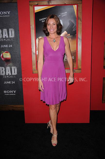 WWW.ACEPIXS.COM . . . . . .June 20, 2011...New York City...LuAnn de Lesseps  attends the premiere of 'Bad Teacher' at the Ziegfeld Theatre on June 20, 2011 in New York City.....Please byline: KRISTIN CALLAHAN - ACEPIXS.COM.. . . . . . ..Ace Pictures, Inc: ..tel: (212) 243 8787 or (646) 769 0430..e-mail: info@acepixs.com..web: http://www.acepixs.com .