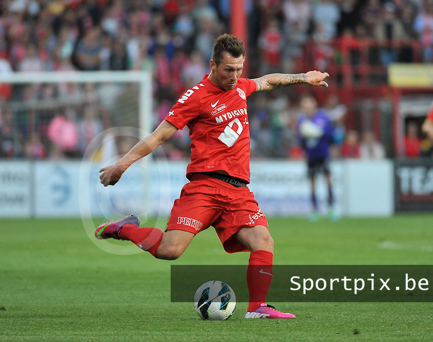 KV Kortrijk - Sporting Lokeren : Teddy Chevalier<br /> foto VDB / Bart Vandenbroucke