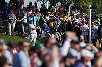 Hideki Matsuyama (JPN) on the 17th tee during the 3rd round at the PGA Championship 2019, Beth Page Black, New York, USA. 19/05/2019.<br /> Picture Fran Caffrey / Golffile.ie<br /> <br /> All photo usage must carry mandatory copyright credit (© Golffile | Fran Caffrey)