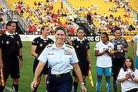 Coast Guard admiral during the WPS All-Star game at KSU Stadium in Kennesaw, Georgia on June 30 2010. Marta XI won 5-2.