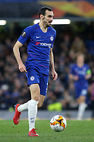 Davide Zappacosta of Chelsea in action during Chelsea vs Dynamo Kiev, UEFA Europa League Football at Stamford Bridge on 7th March 2019