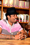 CORAL GABLES, FL - SEPTEMBER 21: Big Gipp of the Goodie Mob greets fans and signs copies of his book 'Everybodys Brother' at Books and Books on September 21, 2013 in Coral Gables, Florida. (Photo by Johnny Louis/jlnphotography.com)
