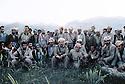 Iran 1985.Massoud Barzani et ses peshmergas.Iran 1985.Massud Barzani et ses peshmergas