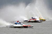 "Joe Sovie, E-8 ""Last Minute Again"", John Shaw, E-35 ""T M Special"", Andy Keogh, E-13 ""Lady Luck"" (5 Litre class hydroplane(s)"